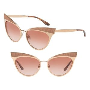 Dolce & Gabbana  Cat Eye Sunglasses PINK